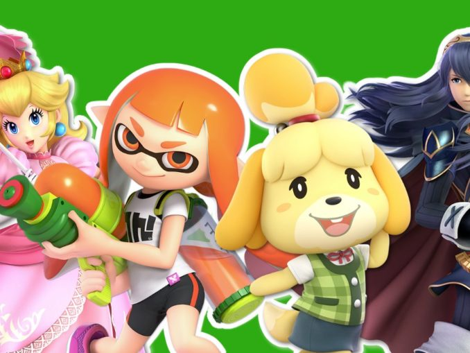 Nieuws - Princess Peach, Lucina, Inkling Girl & Isabelle op Xbox One Dashboards