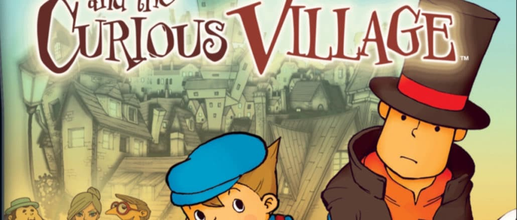 Professor Layton And The Curious Village is uit!