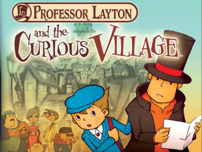 News - Professor Layton And The Curious Village is uit!