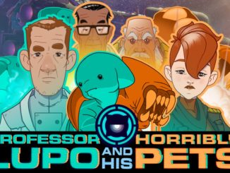 Release - Professor Lupo and his Horrible Pets