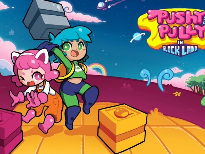Nieuws - Pushy and Pully in Blockland – 12 minuten aan gameplay