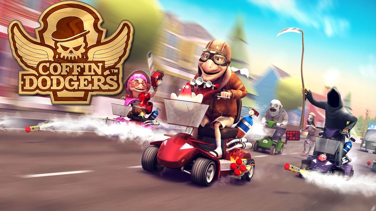 Race tegen de dood in Coffin Dodgers
