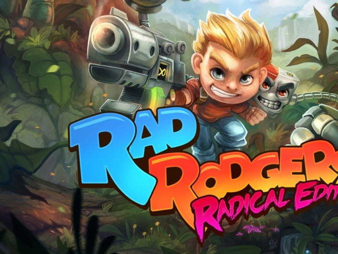 News - THQ Nordic announced Rad Rodgers Radical Edition