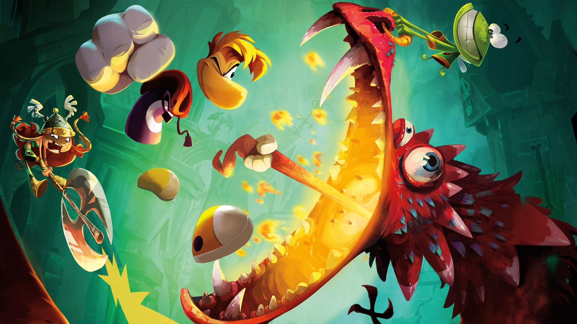 Rayman Legends: Definitive Edition patch lost framerate issues op