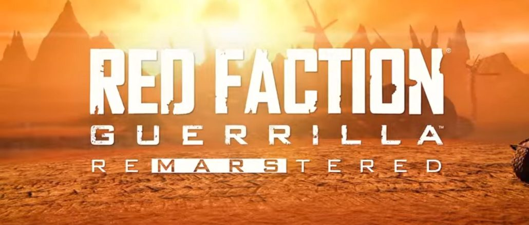 Red Faction Guerrilla Re-Mars-tered hits July 2nd