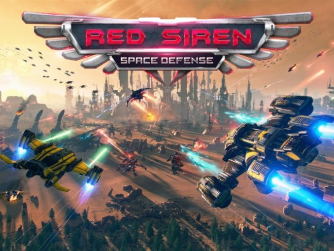 News - Red Siren: Space Defense announced – Launches June 4th