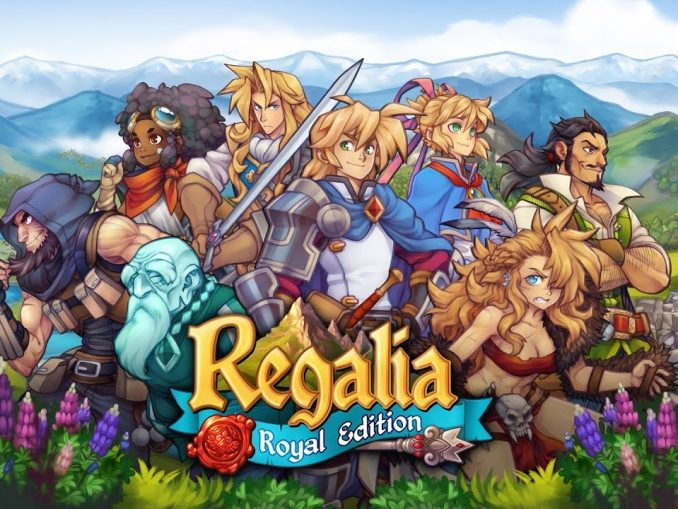 Nieuws - Regalia: Of Men and Monarchs Royal Edition verschijnt in april