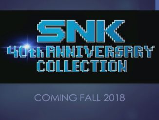 Releasedate SNK 40th Anniversary Collection is known
