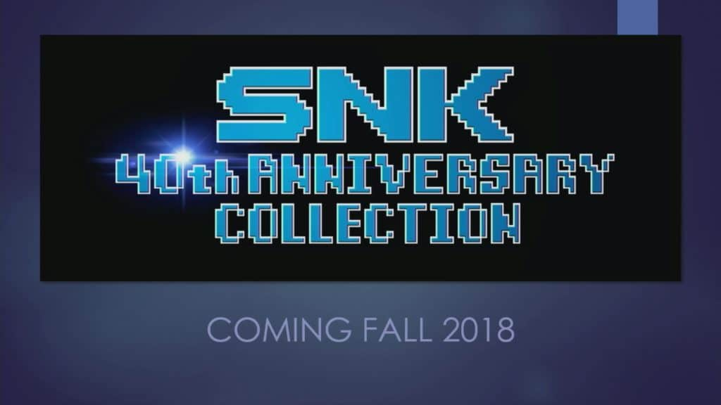 Releasedatum SNK 40th Anniversary Collection bekend