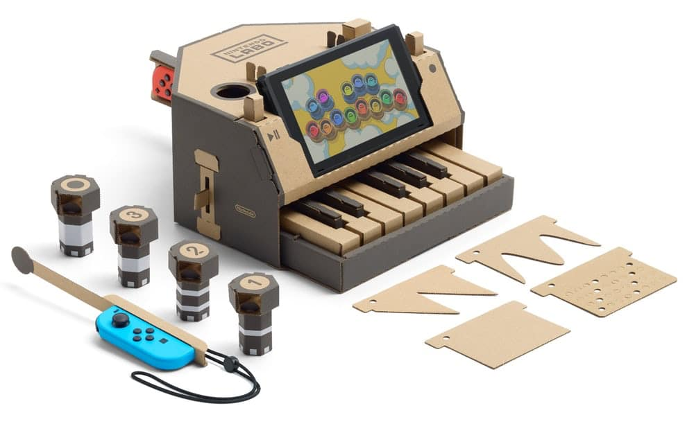 Rengo Co. is leverancier karton Nintendo Labo