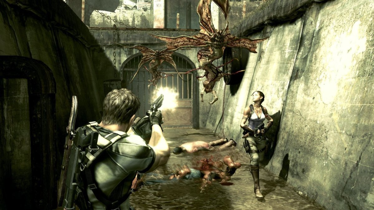 Resident Evil 5 demo – Native resolution butframerate issues