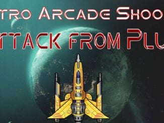 Retro Arcade Shooter – Attack from Pluto
