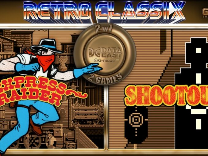 Release - Retro Classix 2-in-1 Pack: Express Raider & Shootout