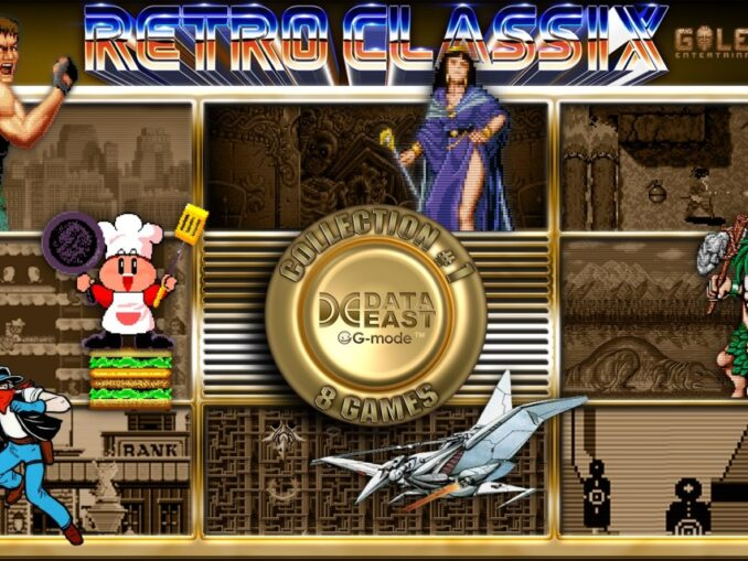Release - Retro Classix Collection #1: Data East