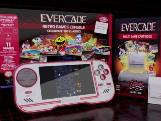 Retro Handheld Hybrid Evercade – Pre-order + Nieuwe Preview Trailer
