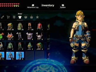 Guide - Rex outfit in Breath of the Wild