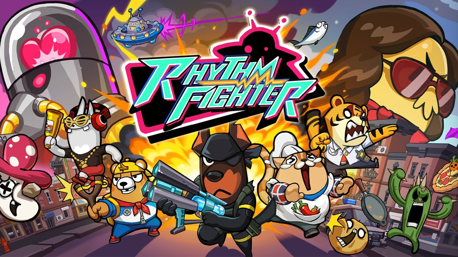 Rhythm Fighter komt op 14 januari 2021