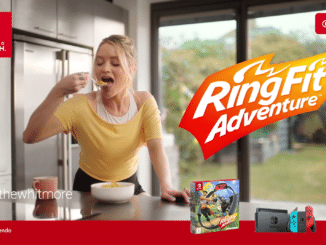 Ring Fit Adventure reclame met Laura Whitmore