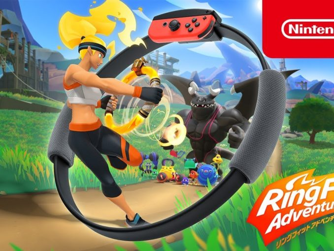Nieuws - Ring Fit Adventure – Introductie Trailer