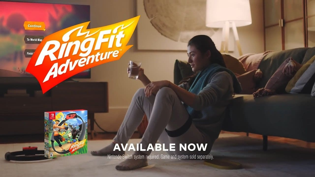 Ring Fit Adventure – My Way To Play TV Reclame
