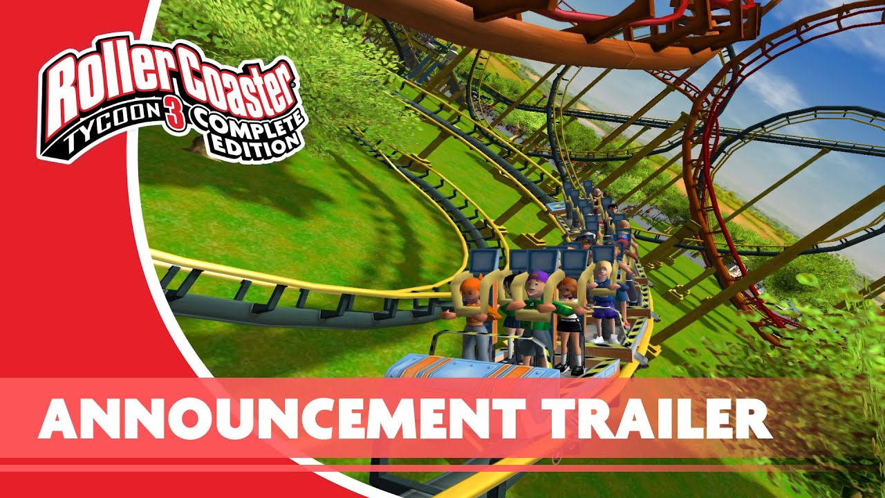 RollerCoaster Tycoon 3: Complete Edition – Officially Announced – Launches Septermber 24th