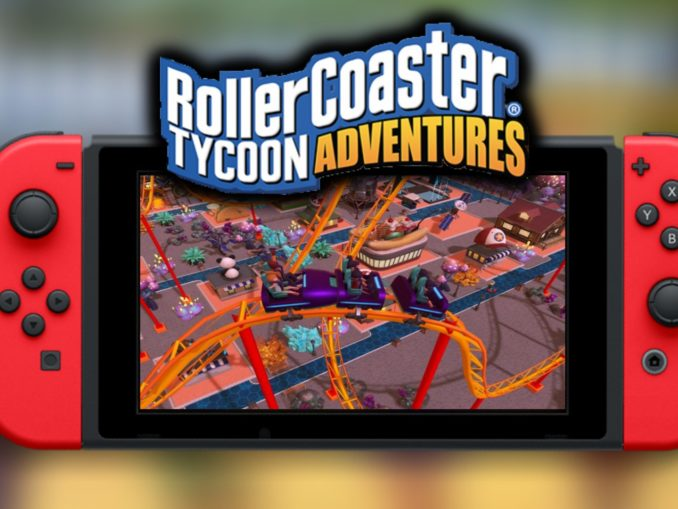 Nieuws - RollerCoaster Tycoon Adventures in november