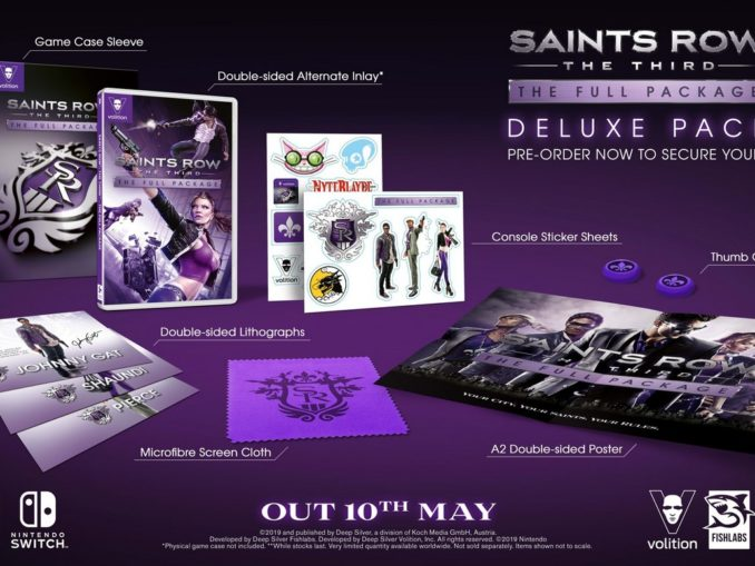 Nieuws - Saints Row: The Third – The Full Package Deluxe Pack