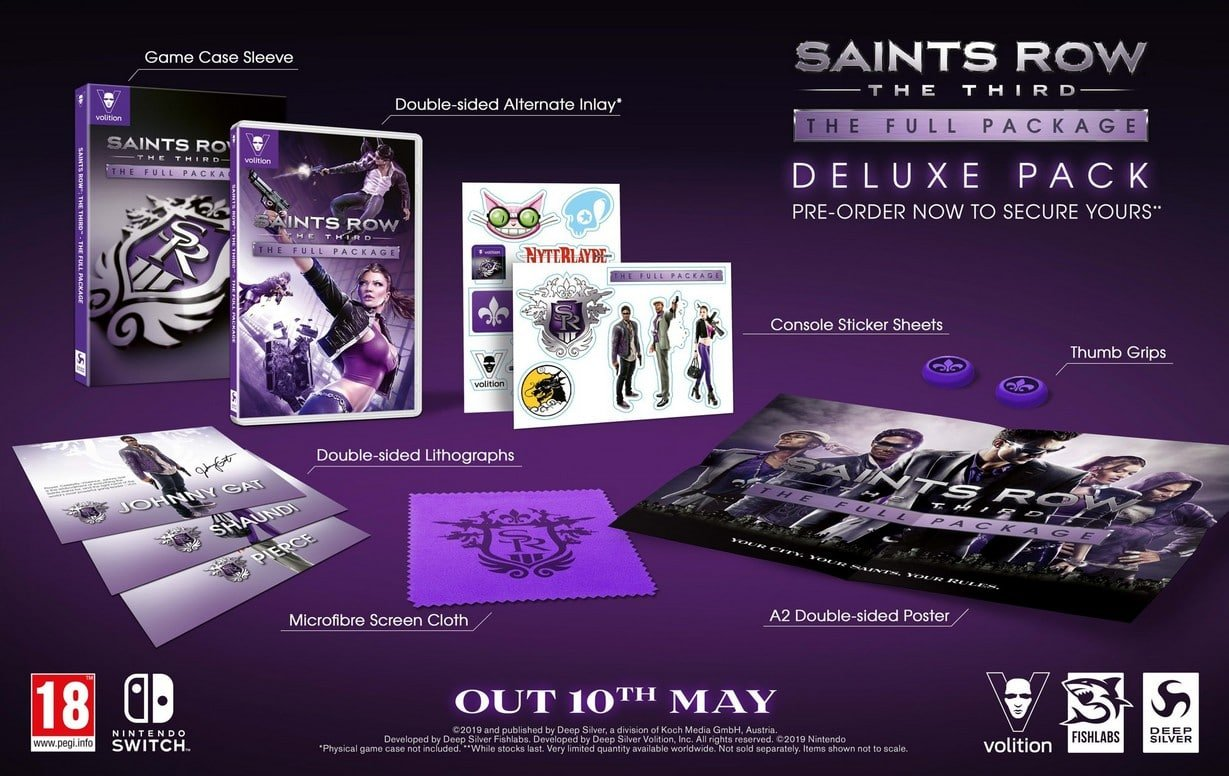 Saints Row: The Third – The Full Package Deluxe Pack