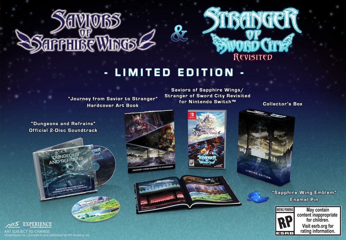 Saviors Of Sapphire Wings/Stranger Of Sword City Revisited announced – Launching 2021