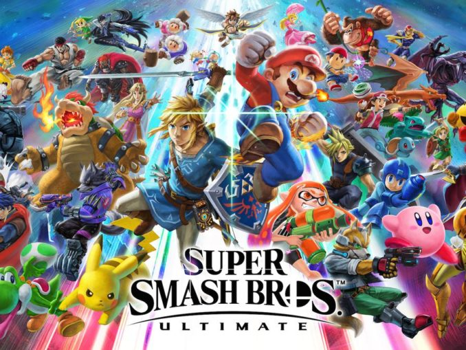 Nieuws - Schatting grootte Super Smash Bros. Ultimate