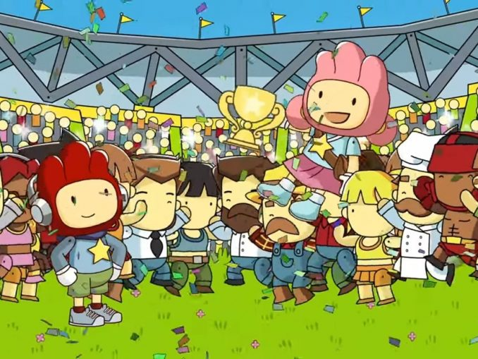 Nieuws - Scribblenauts Showdown gameplay