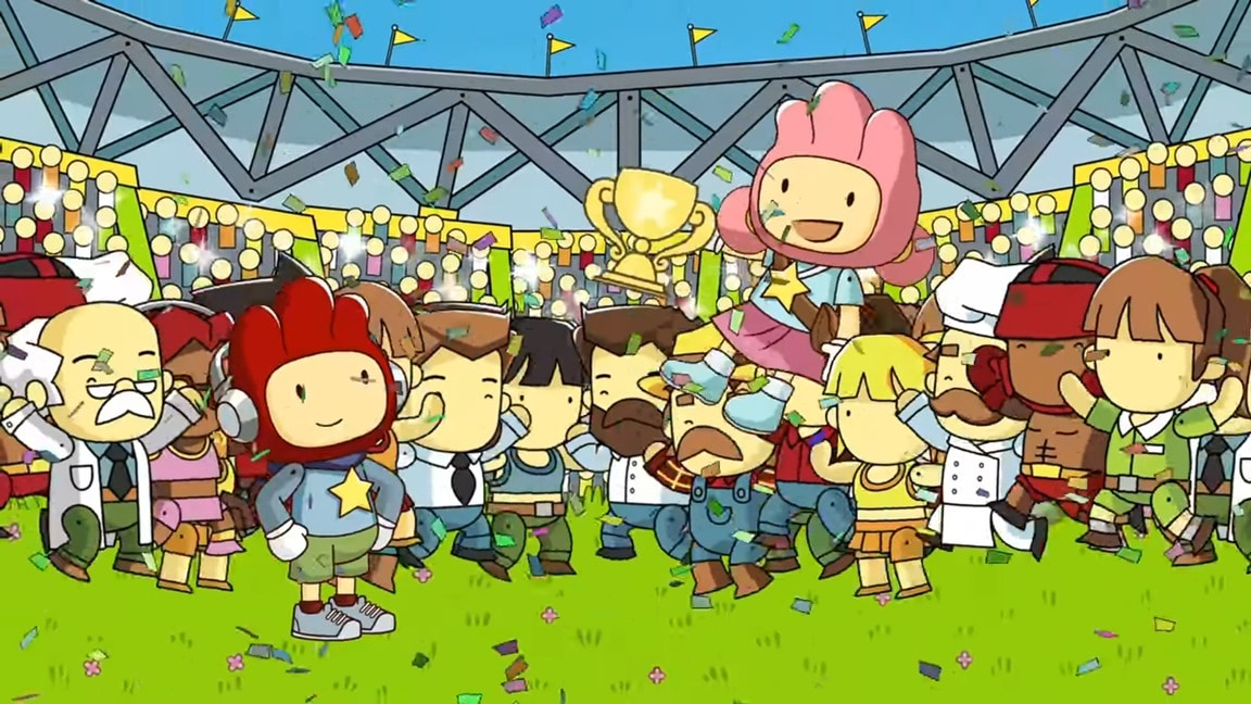 Scribblenauts Showdown gameplay