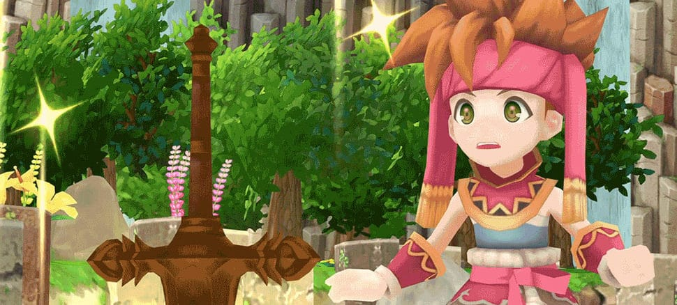 Secret Of Mana vastgelegd in Japan
