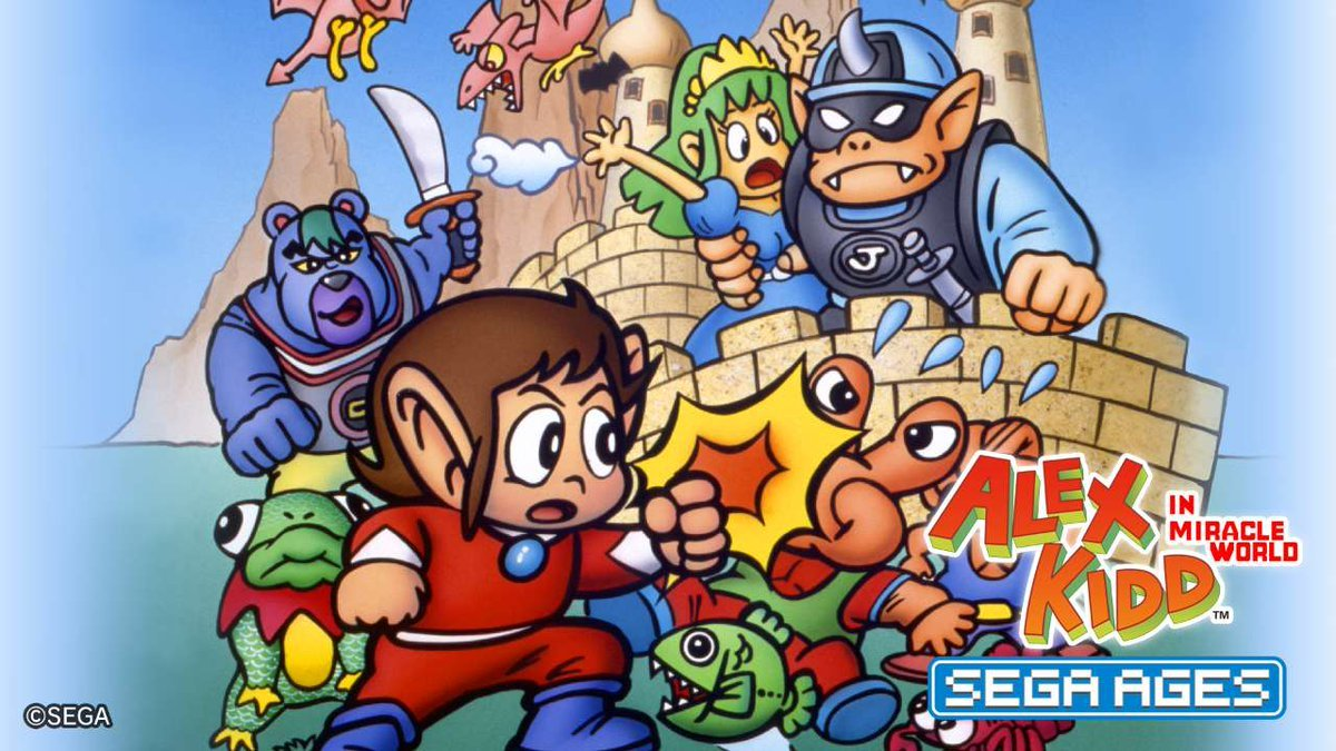 SEGA AGES: Alex Kidd In Miracle World komt