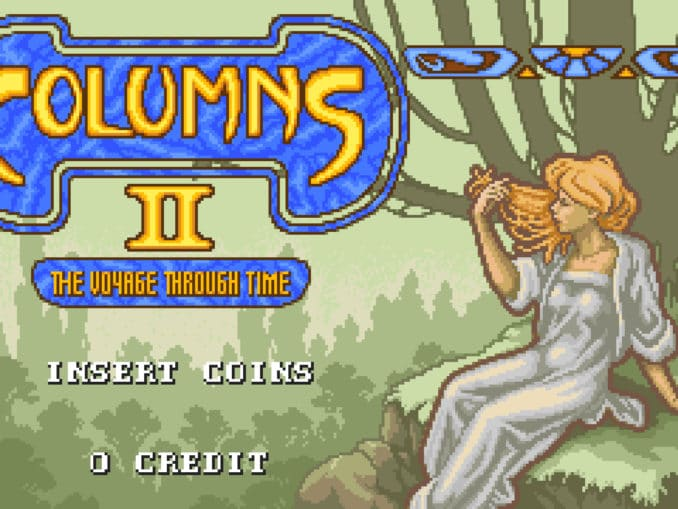 Nieuws - SEGA AGES Columns II: The Voyage Through Time – Japanse launch trailer