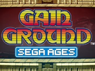 Release - SEGA AGES Gain Ground