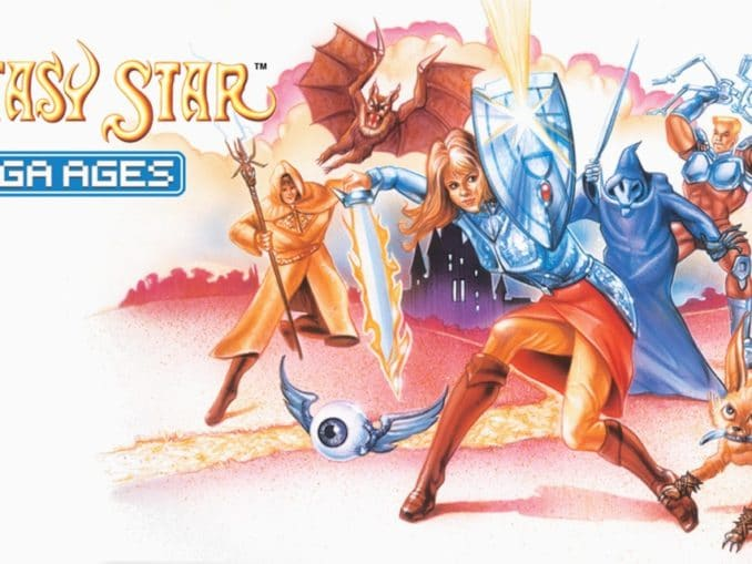 Release - SEGA AGES Phantasy Star