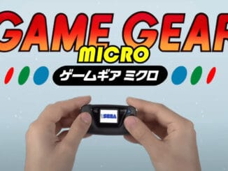 SEGA announces Game Gear Micro for October 6th