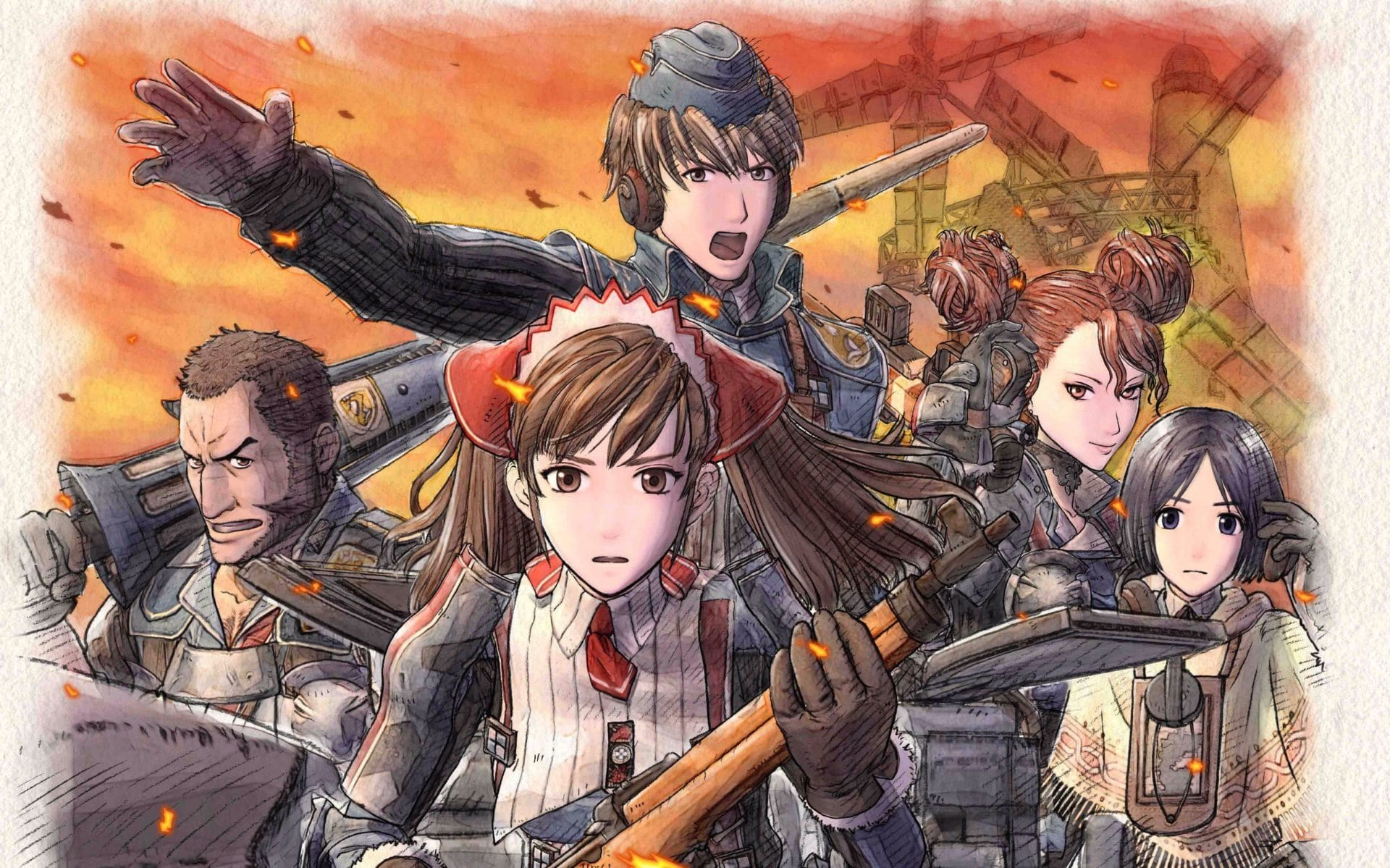 SEGA brengt Valkyria Chronicles 4 eind september