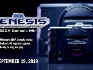 SEGA – Genesis Mini Does reclame