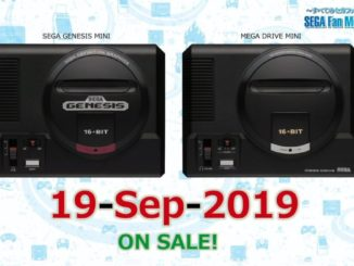 SEGA Mega Drive Mini – Worldwide release September 19th