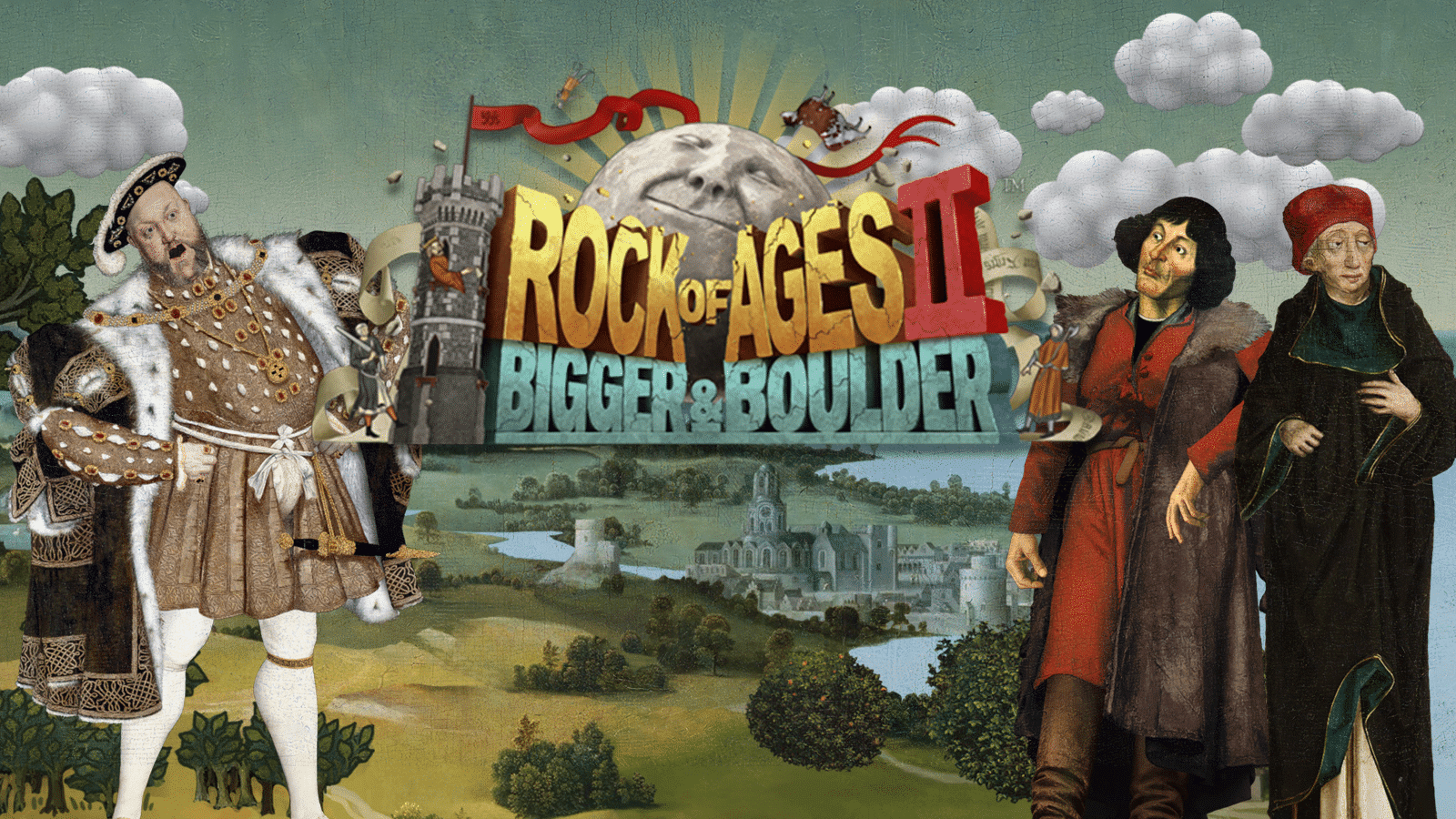 SEGA geeft Rock of Ages II: Bigger & Boulder uit
