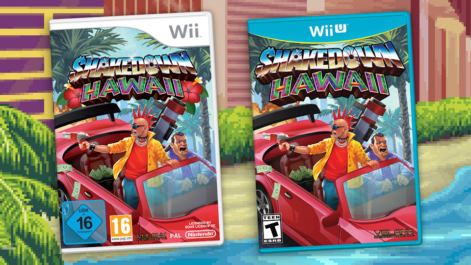 Shakedown Hawaii Wii and Wii U Physical Releases in 2020