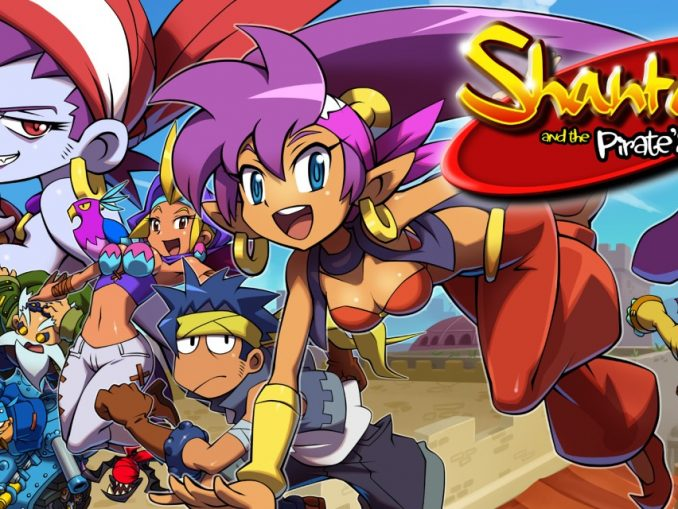 Release - Shantae and the Pirate's Curse