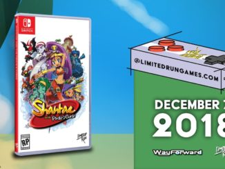 Shantae and the Pirate's Curse is volgende Limited Run Games release