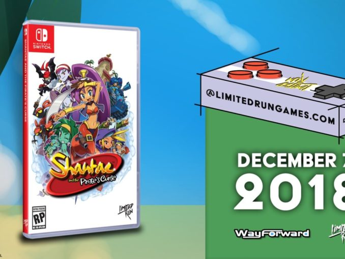 Nieuws - Shantae and the Pirate's Curse is volgende Limited Run Games release