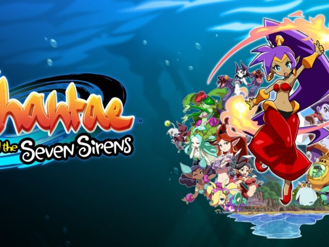 Release - Shantae and the Seven Sirens