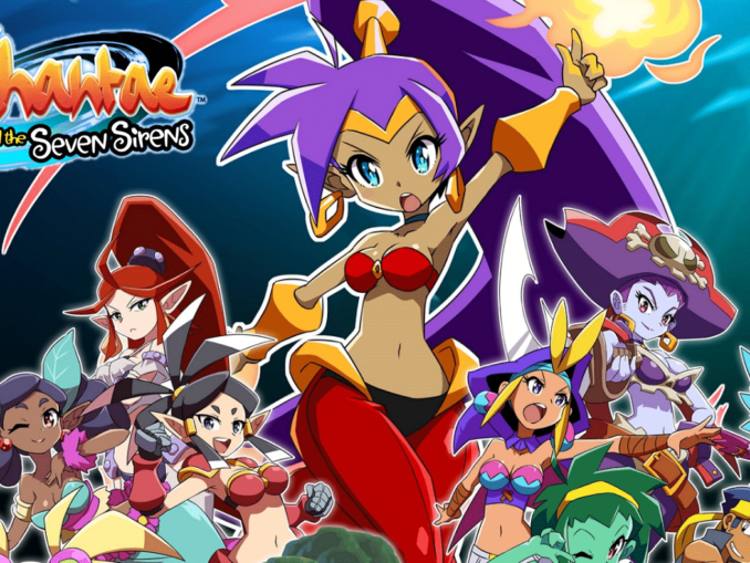 Nieuws - Shantae and the Seven Sirens komt 28 Mei