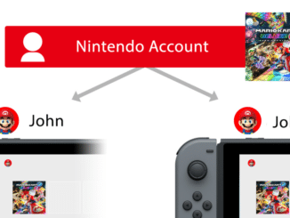 Deel je digitale games met je Nintendo-account
