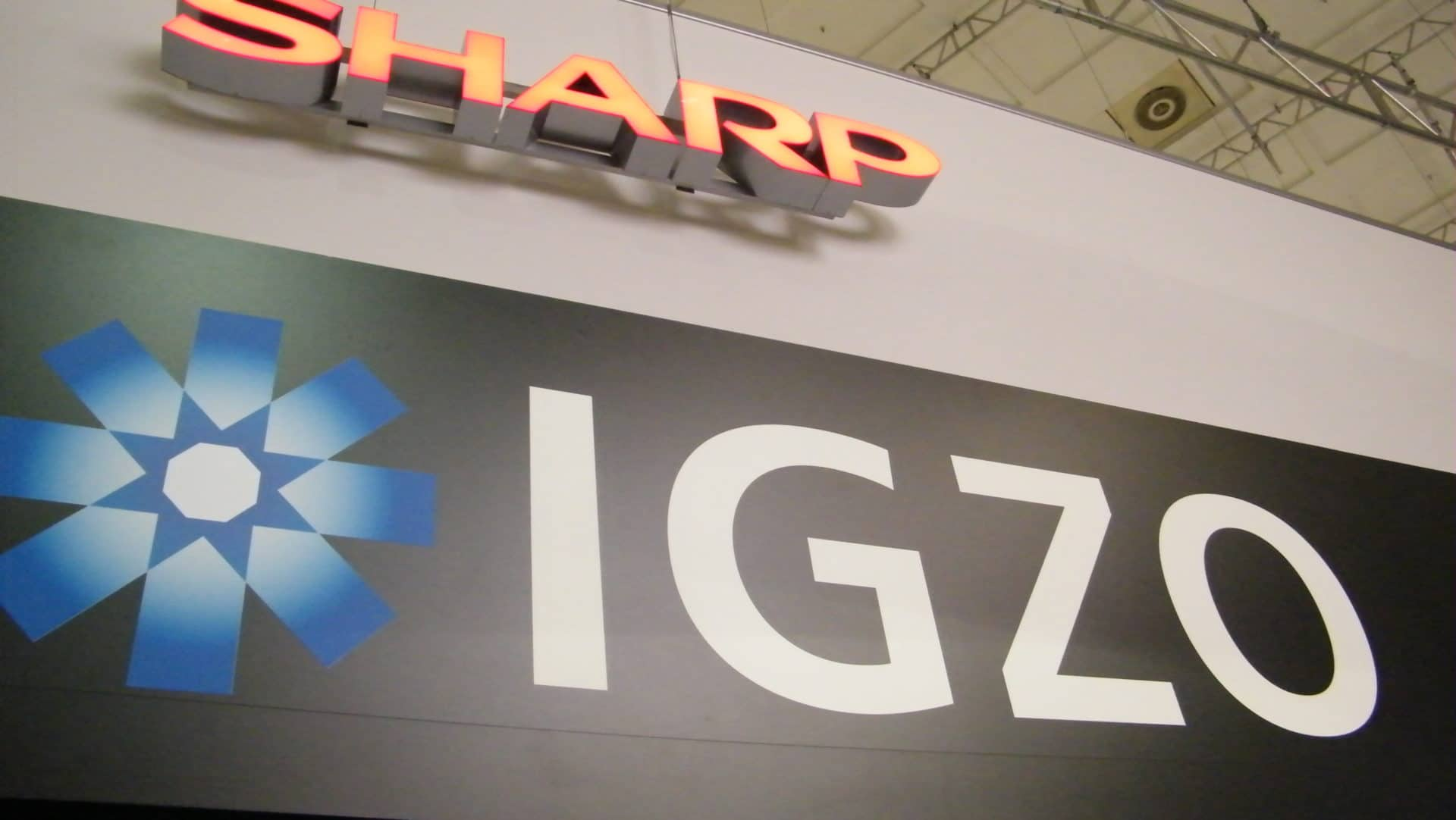 Sharp to provide flagship IGZO display panels